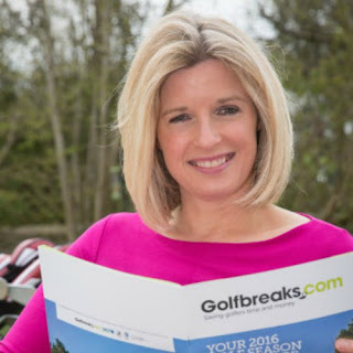 British television presenter, Sarah Stirk