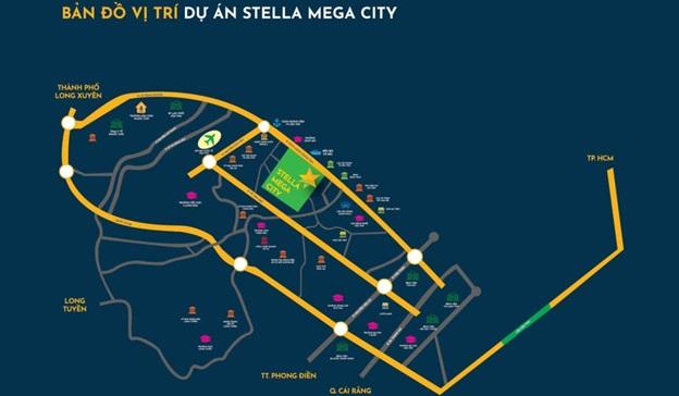 Vị trí Dự án Stella Mega City
