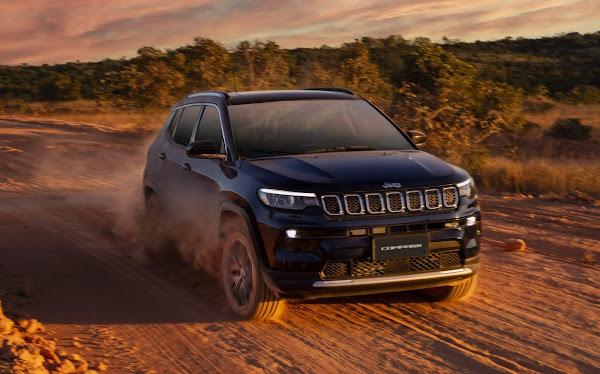 Jeep Compass supera marca de 250 mil vendidos no Brasil