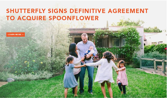Shutterfly acquires Spoonflower