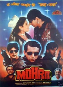 Poster Of Bollywood Movie Mohra (1994) 100MB Compressed Small Size Mobile Movie Free Download worldofree.co