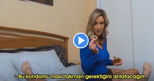 Oğluna Kondom Takmayı Öğreten Anne