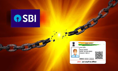 How to Delink Aadhar from SBI Bank Account