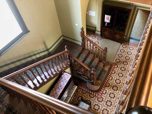 Coolart Homestead, Somers staircase