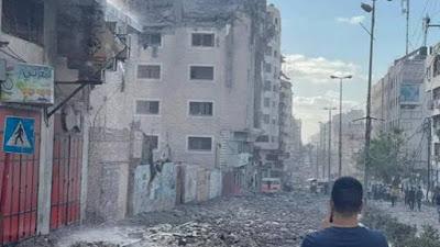 Warga Sipil Palestina Berjatuhan Akibat Serangan Udara Israel