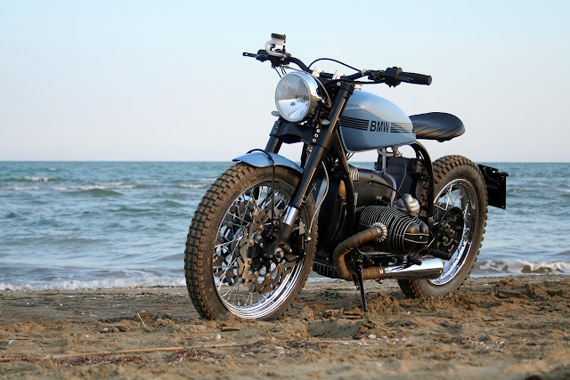 BMW R80 By La Motocicletta Hell Kustom