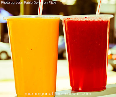 Breakfasts On The Go In Mexico - Freshly-Squeezed Fruit Juice