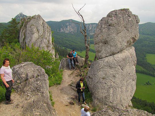 Góry zamek (z lewej pokazała się nam Miłka - wspaniała ludzka dusza).