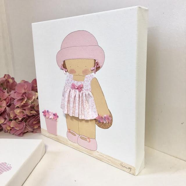Cuadros personalizados pintados a mano para habitaciones infantiles