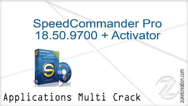 SpeedCommander Pro 18.50.9700 + Activator
