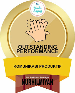 Badge Outstanding Performance Kelas Bunda Sayang Batch 4 Aceh SUmut Batam
