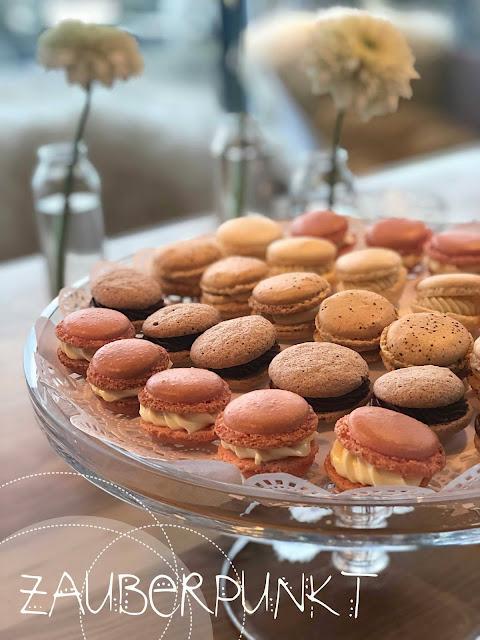 Macaronsauswahl, macarons selbstgemacht, selber backen, kleine Diva, Macarons mit Füllung