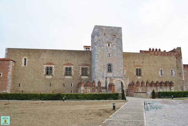 Palacio de los Reyes de Mallorca en Perpignan, Francia