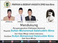 Pimpinan DPRD Kobi Dukung Penuh Sultan M. Salahuddin Diusulkan sebagai Pahlawan Nasional