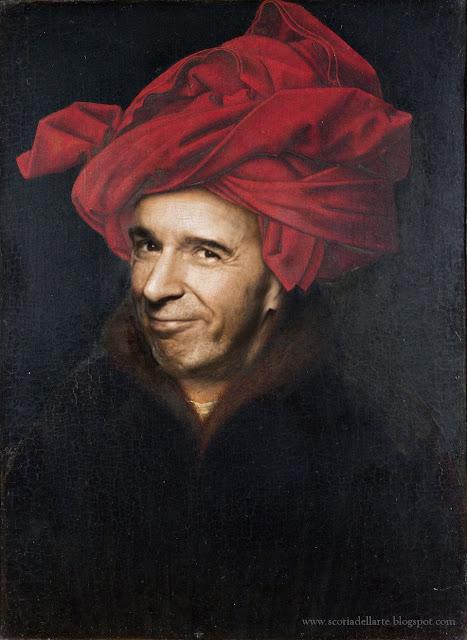 fotomontaggio benigni-van eyck