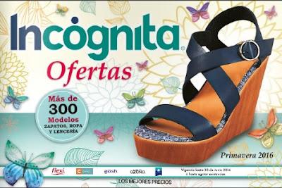 Ofertas Incognita catalogo junio 2016
