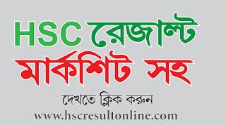 HSC result with full marksheet