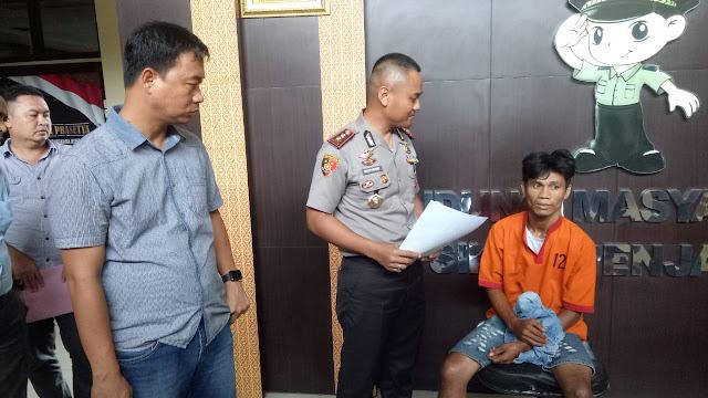Satreskrim Polrestabes Palembang Ringkus Resedivis yang Resahkan Warga