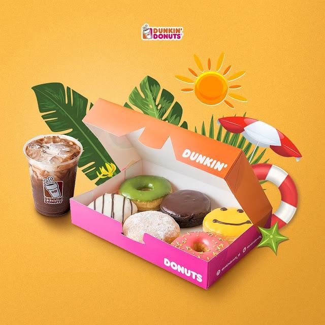 #DunkinDonuts - #Promo 6 Donut & 1 Minuman Hanya 50K (s.d 24 Juni 2019)