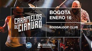 Concierto de CARAMELOS DE CIANURO en Bogotá