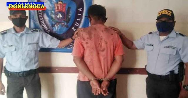 MALVADO | Golpeó a su madre de 73 años e intentó cortarla a cuchilladas