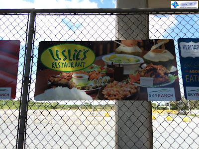 Custom Outdoor Signage - Leslie's Restaurant Tagaytay