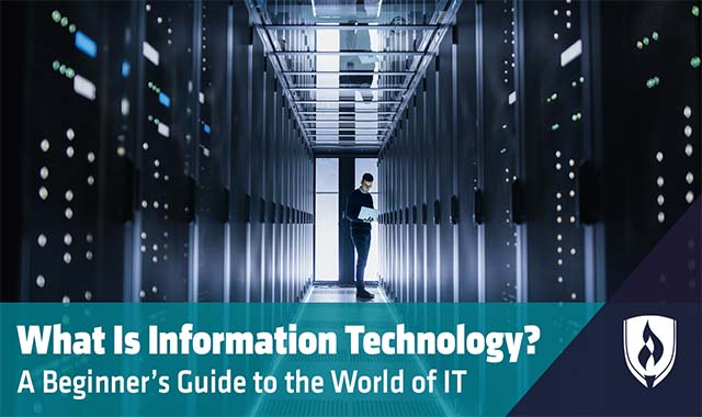 What Is Information Technology? A Beginner's Guide to the World of IT #Technology