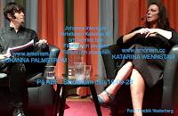 Bild på Katarina Wennstam på ABF huset den 16-09-28