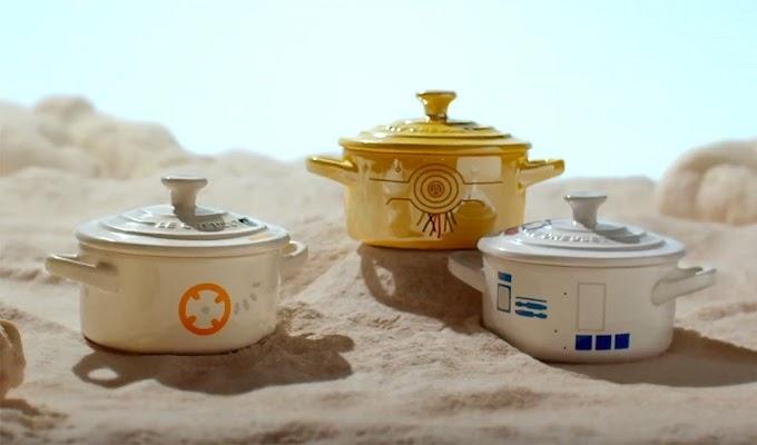 La batería de cocina de Star Wars.