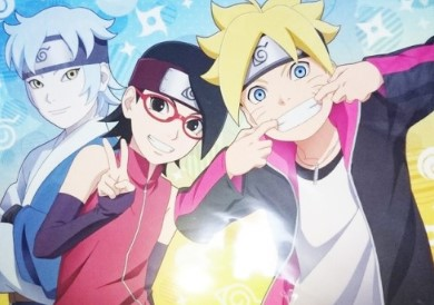 Boruto Subtitle Indonesia (Episode 155)