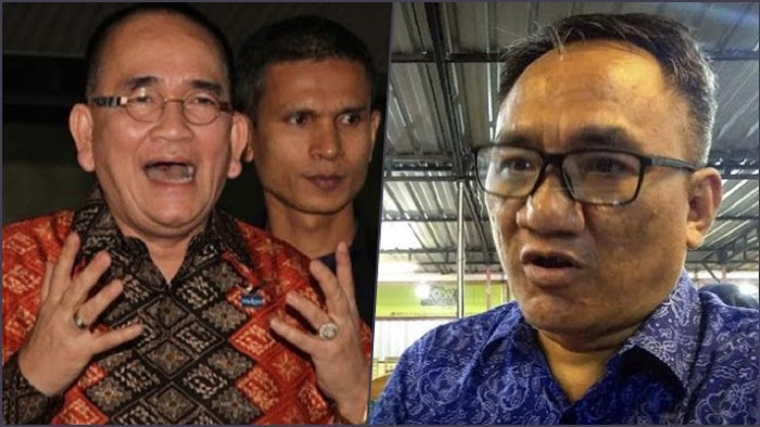 Ruhut Ngotot Bela Jokowi, Andi Arief: Akibat Lama Sekali Diangkat Jadi Direksi PLN 'Nyobain Setrum'