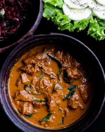 Tomato Lime Beef Curry