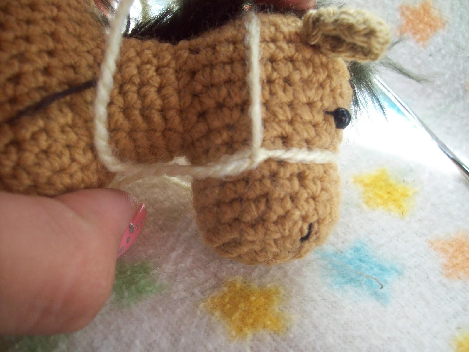 Amigurumis Caballitos A Crochet : Tejidos thina patrÓn caballito amigurumi