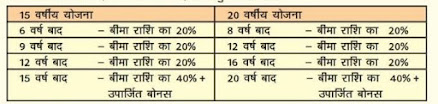 How many types of PLI Policy is available in Post office