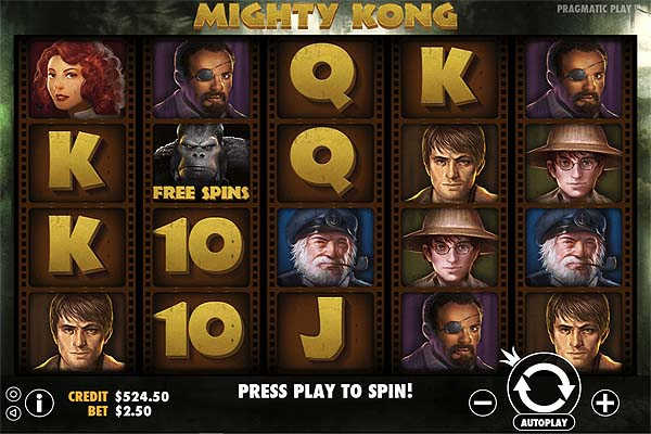 Main Gratis Slot Indonesia - Mighty Kong (Pragmatic Play)
