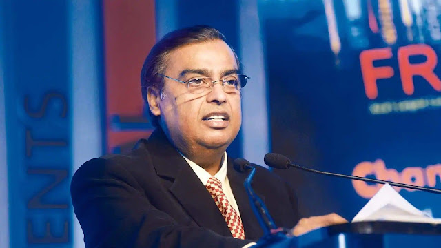 Reliance by Mukesh Ambani made a loss of 1.4 lakh crores in market value in 3 days