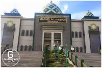 pembuatan pagar cor aluminium masjid