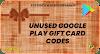 Google play gift card codes unused | 100% working | Online Pep