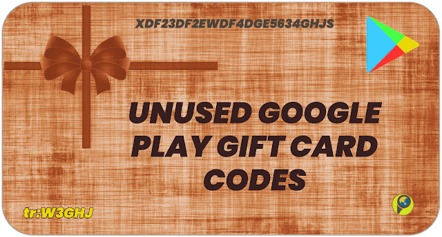 Google play gift card codes unused | 100% working | Online Pep