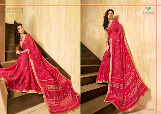 Triveni Sutraa Vol 3 Fancy Saree Catalog in Wholesale, Buy New Latest Fancy Saree By Triveni Sutraa Vol 3 Saree Collection
