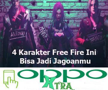 4 Karakter Free Fire Ini Bisa Jadi Jagoanmu