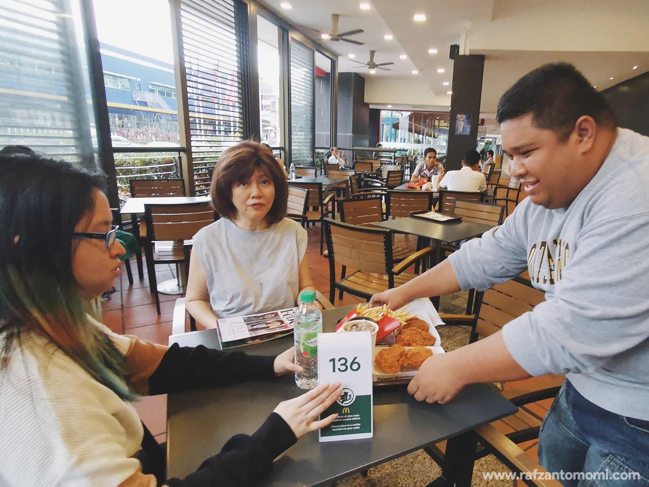 Hari McD Turun Padang - McDonald's The Curve