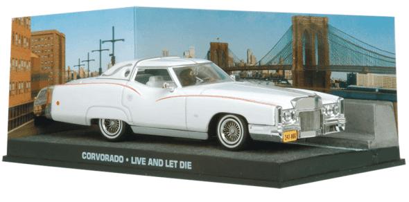 Corvorado - Live and let die 1:43 colección james bond