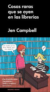 """""""cosas raras que se oyen en las librerías jen campbell malpaso lo que leo"""""""