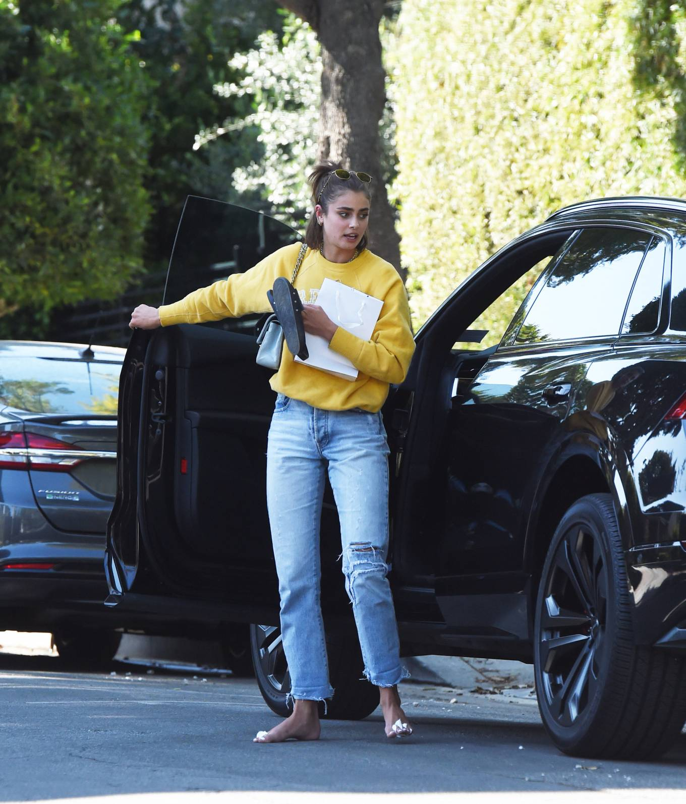 Photo of Taylor Hill  - car