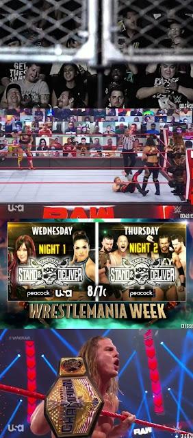 Download WWE Monday Night Raw 300MB HDRip 5th April 2021 || MoviesBaba 1