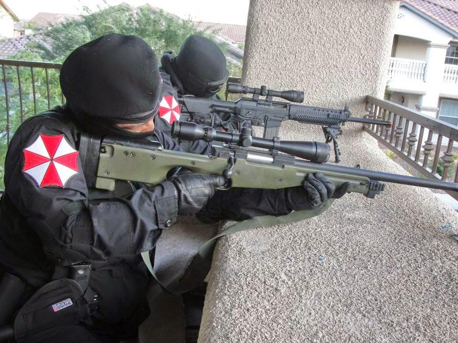 Mikeliveira S Space Umbrella Corporation Paramilitary Units