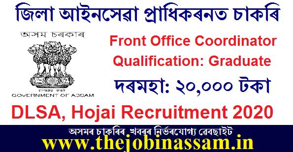 DLSA, Hojai Recruitment