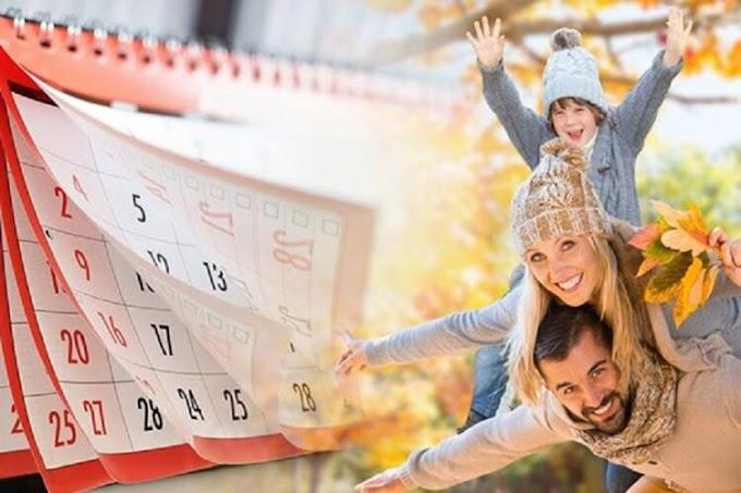 У жовтні українців чекають довгі вихідні: які дні будемо відпрацьовувати