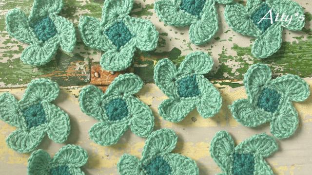 Little Windmill Baby Blanket WIP